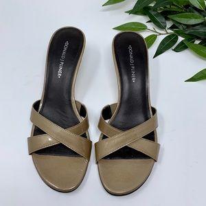 Donald J. Pliner Shoes - Donald J Pliner Patent Leather Kitten Heel 8.5